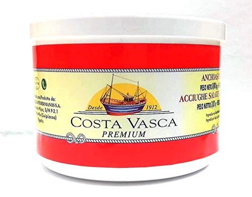 COSTA VASCA - Acciughe Salate Mar Cantabrico 10 Pesci per Strato - 3kg - [1 unitá]