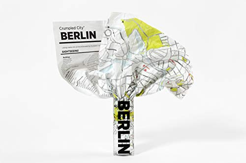 Crumpled City: Berlin. Soft city maps for urban jungles: Die cleveren Stadtpläne für Großstadtnomaden (Crumpled City Maps)