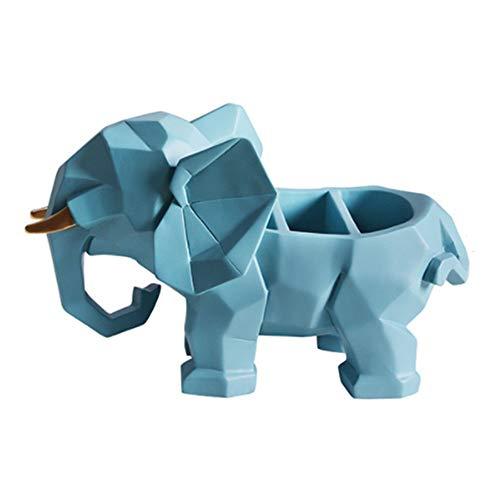 JIN MOON Accesorios para el hogar de decoración de Elefantes, Control Remoto...