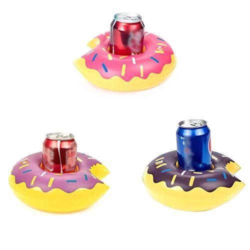 Babysbreath17 Donut Inflable Bebida Puede portabebida