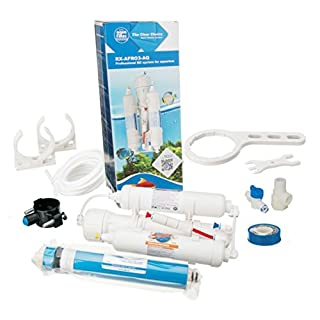 3 Stage Reverse Osmosis Systems for Aquarium Fish Water Filtration System