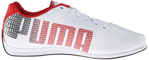 1 Sneaker Puma White rosso Corsa Ferrari Fashion Lo Evospeed 3 Fw77xq5A