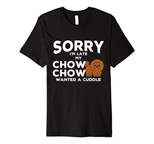 Niedliches Kuschel-Chow-Chow-Hundet-shirt - ()
