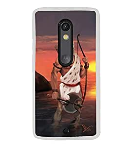 ifasho Designer Back Case Cover for Motorola Moto X Style :: Moto X Pure Edition (Parsuram Vishnu Virat Myanmar Vishnu Mantra)