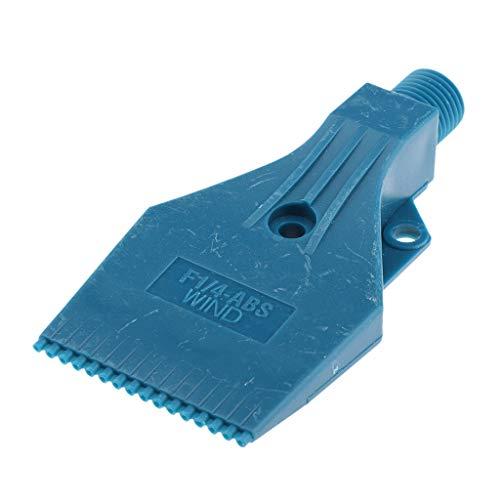Sharplace Ugello Soffiatore Aria Nebulizzatore Getto Soffiatore Spruzzo ABS - 3 Fori blu