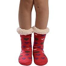 Calcetines de Algodón,ZARLLE Mujeres Suave Cómodo Calcetines de Mascota Divertidos Dibujo imprimen gruesos calcetines
