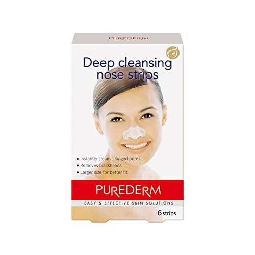 Amirose Purederm Deep Cleansing Nose Strips (6 Strips) -