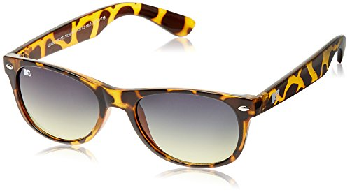 MTV Gradient Oval Unisex Sunglasses (Demi Brown) (MTV Gradient-121-C3) image