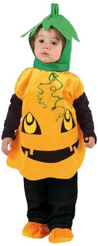 Atosa 8422259122777 - Halloween-Kürbiskostüm, Kinder, Größe: 0-6