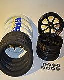 Bausatz 12 Zoll Räder komplett mit Felge Reifen Michelin Schlauch Kugellager Radsatz 62-203 47-203