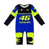 VR46 Valentino Rossi Yamaha Racing Babies - Mono, Color Negro y Azul