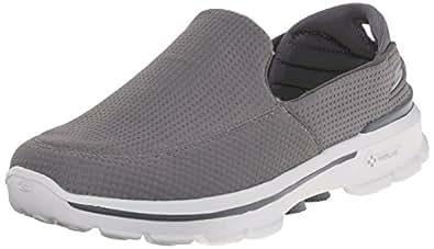 2f4cb4ebd5d2 Skechers Men s Performance Go Walk 3 Unfold Walking Shoe Gray 7.5 D ...