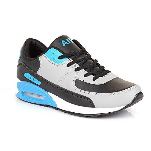Shoes Click Zapatillas de Material Sintético para hombre negro negro 41 EU, color negro, talla 42.5