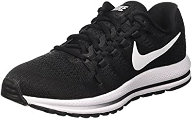 Nike Air Zoom Vomero 12, Scarpe da Corsa Uomo, Nero (Black/White/Anthracite), 40 EU