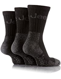 Jeep Men Pack Of Three Black Woven Logo Boot Socks