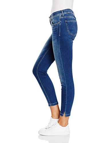 Mavi Damen Jeanshose Adriana Ankle Mid Str Blau (mid str 22302)