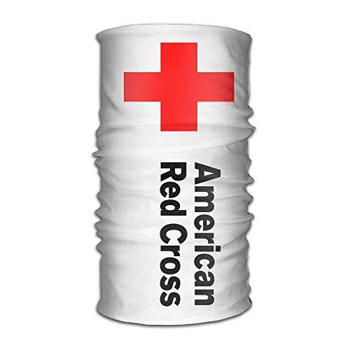 longkouishilong Kopfbedeckungen Bandanna Sport Ameirican Red Cross Caps Scarf Hair Band Hats Elastic Head Wrap