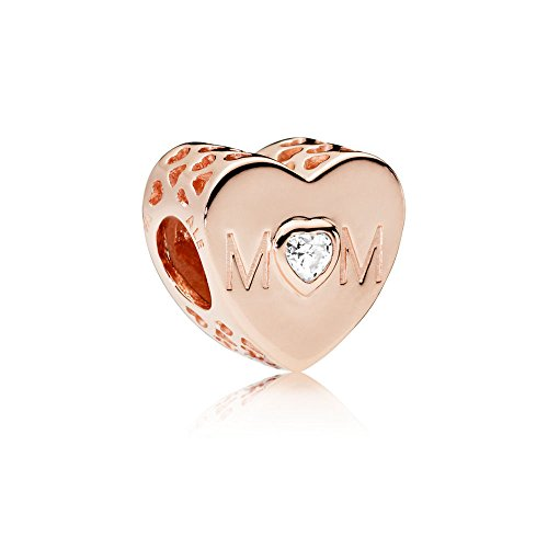 Pandora Moments Mother Heart Damen Bead Charm Pandora Rose 10,5 x 11 mm