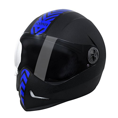 steelbird adonis dashing full face helmet with sticker Steelbird Adonis Dashing Full Face Helmet with Sticker 417jhzkXFaL