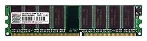 Transcend TS128MLD64V3J Mémoire de stockage 1 Go / PC2700 / 333 MHz / DDR