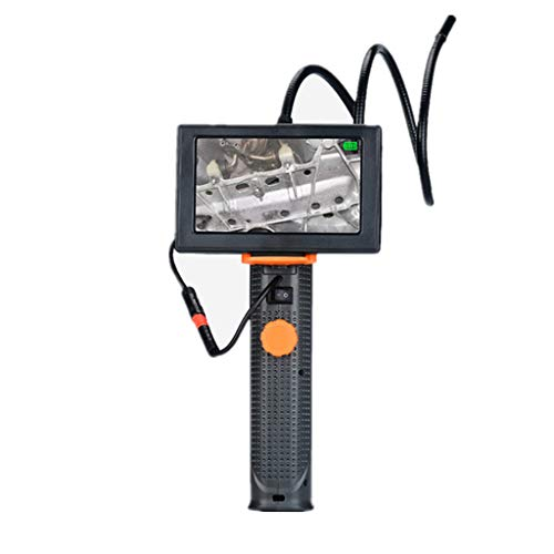 Preisvergleich Produktbild LLCOFFGA 4, 3-Zoll-HD-Monitor-Industrielles Handendoskop,  8, 0 Mm Durchmesser Halbstarre Schlange Rohrkamera Mit 6 Verstellbaren Helligkeitslicht,  4X Zoom Und 720P Videoaufnahme (80cm)