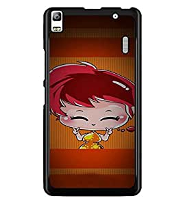 PrintDhaba Cartoon D-4959 Back Case Cover for LENOVO A7000 PLUS (Multi-Coloured)