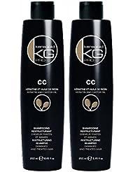 KERAGOLD PRO Shampoing CC à Kératine/Huile de Ricin 250 ml -