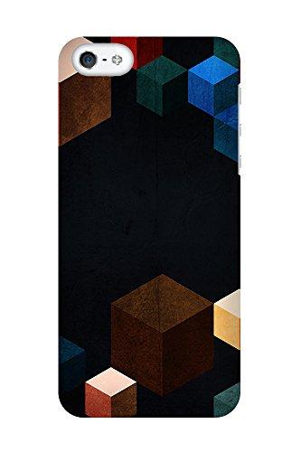 iPhone 4/4S Coque photo - cubes