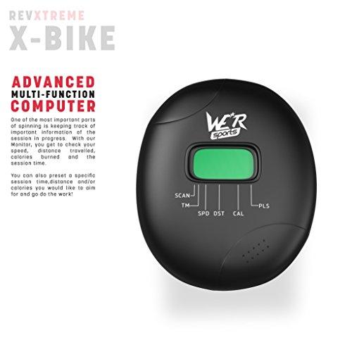 Hometrainer, X-Bike, zusammenklappbar, magnetisch, für Fitness, Cardio, Workout, Gewichtsabbau - 3