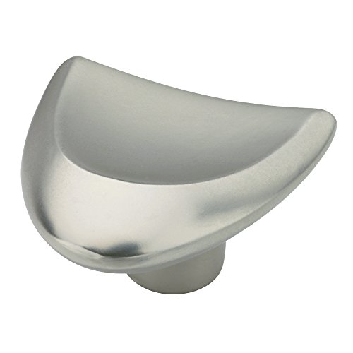 Liberty Nickel-knöpfe (Liberty P03132-MN-C Knauf für Küchenschrank, mit Fingerspitze, Nickel matt)