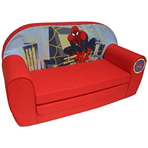 Marvel – 6710036 – Ultimate Spiderman Sofa – Rot