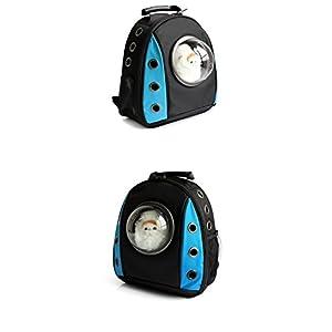 417joZWY5BL. SS300  - DESESHENME Pokemon Cat Dog Space Capsule Pet Cat Dog Mochila Ventana para Puppy Small Cat Dog Carrier Transporte Bolsa…