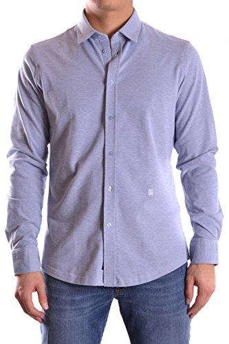 dirk-bikkembergs-homme-c235kfdmb071y066-bleu-claire-coton-chemise