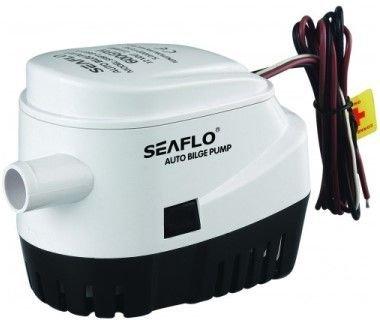 12 Volt / 2270 Liter/Std. Seaflo Bilgepumpe mit Schwimmerschalter (Schwimmerschalter Wasserpumpe)