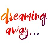Universalschablone A4 -Dreaming away-