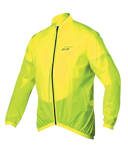 BBB Cycling Fahrrad Regenjacke BBW-148 für Damen, Herren, Kinder, neon yellow, S, Bike Rainjacket