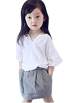 [Patrocinado]Ropa para chicas, RETUROM Ropa Casual de nueva moda niña conjunto