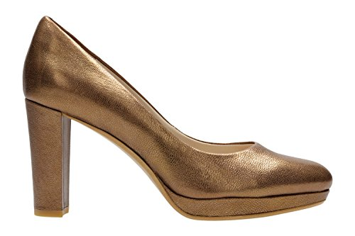 Clarks Shoes WOMENS Bronze Metallic