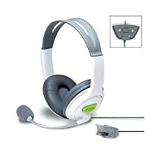 CASQUE STEREO GAMER CONFORTABLE + MICRO ANTIBRUIT XBOX 360