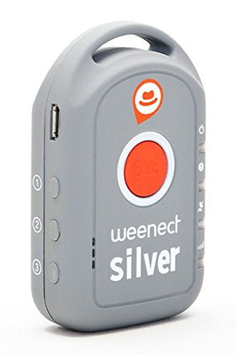 weenect silver gps tracker f r senioren. Black Bedroom Furniture Sets. Home Design Ideas