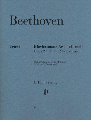 Sonate Op.27/2 do# min. (Clair de Lune) - Piano