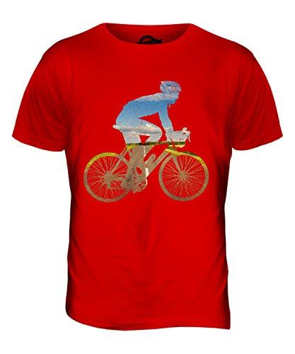 CandyMix Radfahren Herren T Shirt Rot