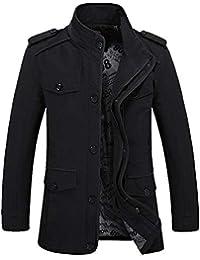 76feeae87f5f8 Magiyard vêtements Homme Pas Cher et d hiver Manteau Long Homme Veste Homme  Hiver Blouson