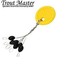 Inlinepose Trout Master Floater Set Angelschwimmer Inline Angelpose zum Angeln Pose f/ür Friedfische /& Forellen Forellenpose