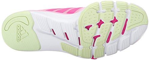 Adidas Performance Adipure 360,3 W Chaussure d'entraînement, noir / gris métallisé / congelé Shock Pink/Shock Pink/Halo Yellow