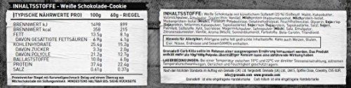 Grenade Carb Killa Hochproteinriegel, White Chocolate Cookie, 12 x 60g - 3