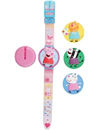 Peppa Pig Kids Interchangeable Head LCD Watch PEP41