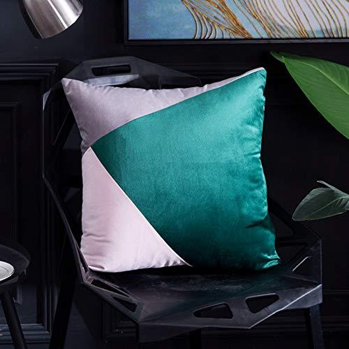 Abbraccio federa in velluto color terracotta stile nordico copridivano cuscino copridivano cuscino abbraccio federa 5 45x45cm