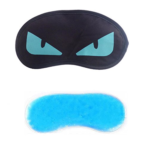 Jenna Blue Eye Ice Gel Eye Mask for Insomnia, Meditation, Puffy Eye's and Dark Circles