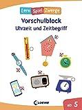 Die neuen Lernspielzwerge - Uhrzeit und Zeitbegriff: Vorschulblock ab 5 Jahre